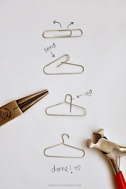 how to make your own descending clothes hangers