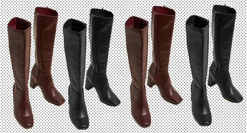 M&S has created a new pair of knee high boots ready for autumn. (M&S)