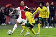 A week after scoring 13, Ajax managed just the five against Fortuna Sittard