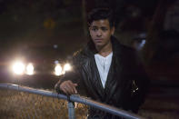 <p>Tony Padilla is Clay's best friend and the person who receives a second set of Hannah's suicide tapes. After Hannah's death, this 18-year-old follows the 12 people on the list to ensure they carry out her wishes. (Photo: Netflix) </p>