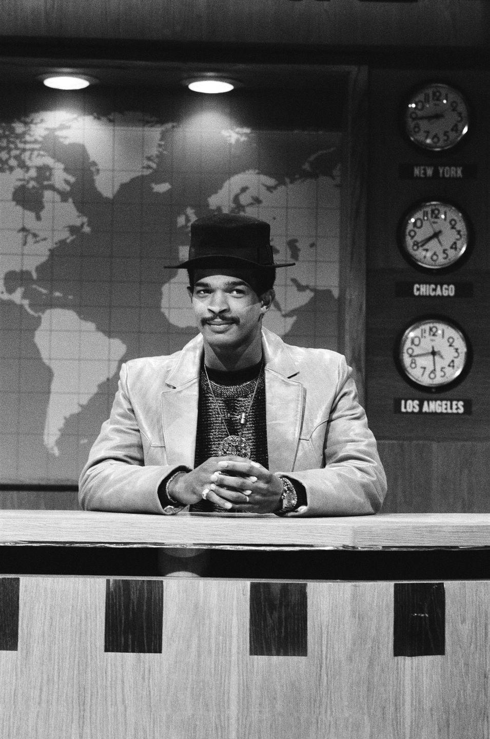 """<p>As a cast member in <em>SNL</em>'s 1985–86 season, Damon Wayans's promise as a sketch comedian was undeniable. When he made a change to a character without getting approval from the show's producers, however, his talent couldn't save him. He was fired, and he later told <em>The Weekender</em> that<em> SNL </em>creator Lorne Michaels """"did the right thing.""""</p>"""