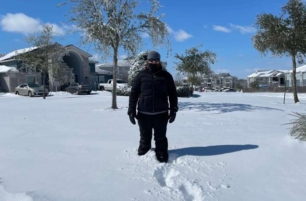 Karen Christensen lives near Austin, Texas and is originally from Fredericton, N.B. She said the state was unprepared for the winter storm that hit last week.