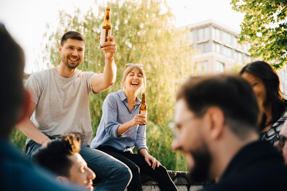 The first pay day after Freedom Day could be a source of happiness for some. (Getty Images)