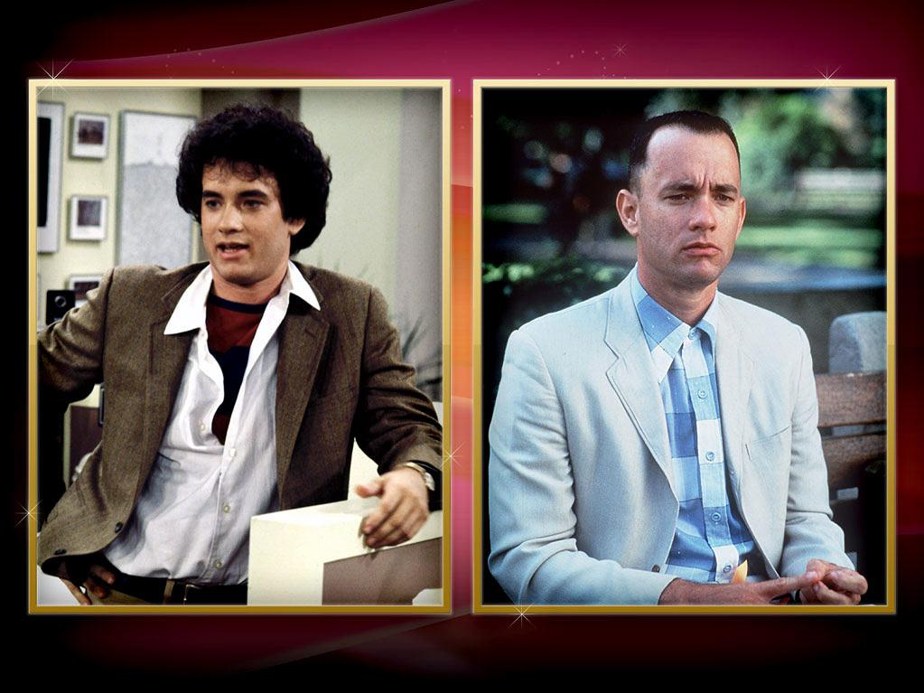 """Tom Hanks — This is the career that every TV actor dreams about. It's hard to remember a time when Hanks wasn't a bankable movie star and a two-time Oscar winner for """"Philadelphia"""" and """"Forrest Gump."""" But back in 1980, we only knew him as cross-dressing ad man Kip Wilson on the wacky ABC sitcom """"<a href=""""http://tv.yahoo.com/bosom-buddies/show/29224"""" rel=""""nofollow"""">Bosom Buddies</a>."""" See, Matthew Perry? It can be done!"""