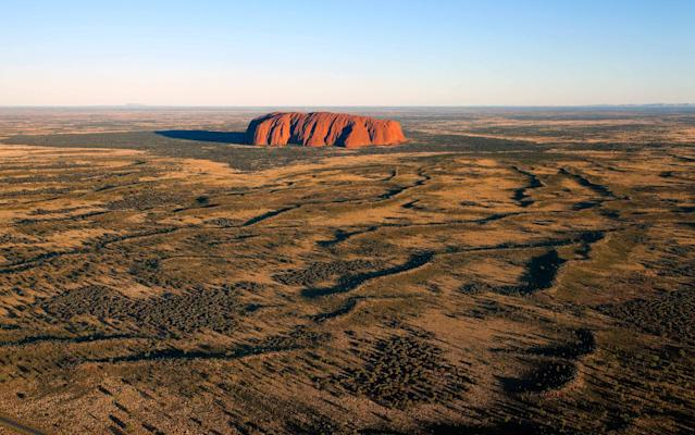 A ban on climbing Uluru comes into force on October 26 - ©Michael Dunning