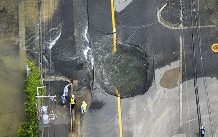 Elderly man, 9-year-old girl killed as strong quake hits Japan