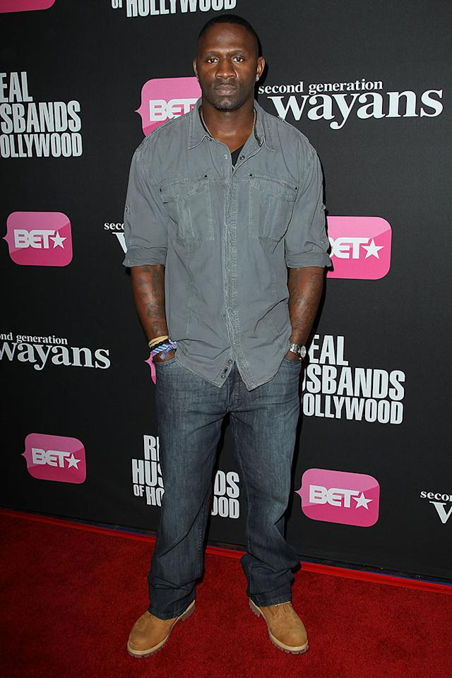 "Anthony Henry arrives at the screenings of BET Networks' ""Real Husbands of Hollywood"" and ""Second Generation Wayans"" held at the Regal Cinemas L.A. Live on January 8, 2013 in Los Angeles, California."