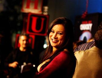 """Premiere: <a href=""""/movie/contributor/1800018758"""">Jennifer Tilly</a> at the Los Angeles premiere of Rogue Pictures' <a href=""""/movie/1808405790/info"""">Seed of Chucky</a> - 11/10/2004<br>Photo: <a href=""""http://www.wireimage.com/"""">Amy Graves, WireImage.com</a>"""