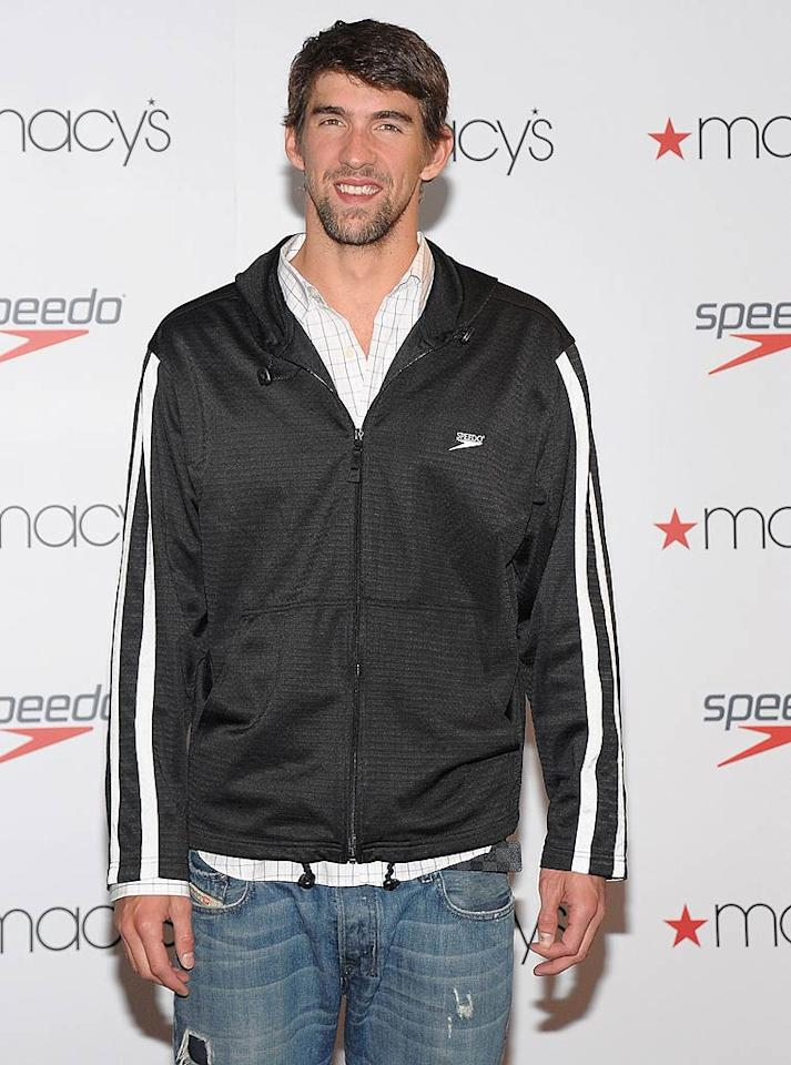 """Michael Phelps turns 26 Jamie McCarthy/<a href=""""http://www.wireimage.com"""" target=""""new"""">WireImage.com</a> - April 24, 2010"""