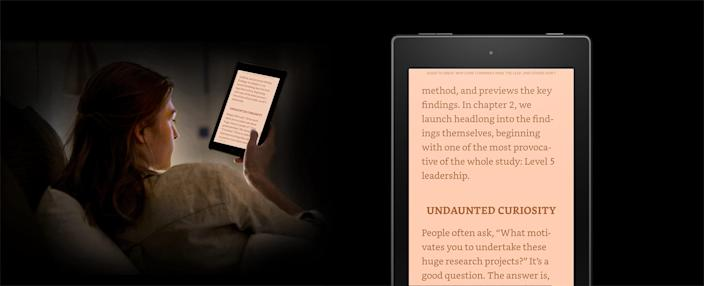Amazon's Kindle has a Blue Shade feature that filters blue light, but experts say there's no research that the filters really work.