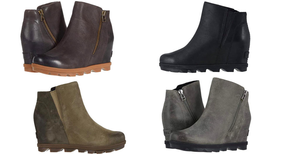 Sorel Joan of Arctic Wedge Wedge II Zip boots are $80 off. (Photo: Zappos)