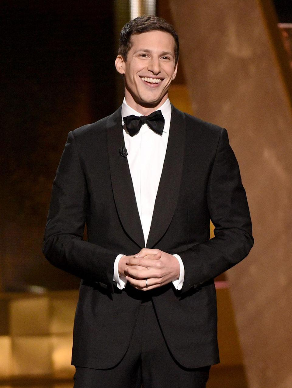 <p>To continue the epic 2015 Emmys, Andy Samberg made some viewers very happy. While he was telling everyone to watch <em>Game of Thrones</em>, he ended up giving out his HBO Go login info to everyone watching—and the credentials were legit. While they only worked for a little while, but it was still amusing. </p>