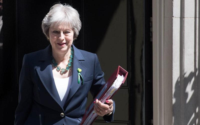 Theresa May leaves Downing Street on another big day for Brexit - PA