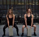 "<p>Halle shares pics on Instagram of herself and Thomas working out together all the time—and she says having a workout buddy is crucial. ""It's often easier to workout with a partner. A partner holds you accountable so you won't quit halfway through. A partner can spot you so you don't injure yourself, but most of all, working out with a partner just makes it all more fun!"" she wrote on <a href=""https://www.instagram.com/p/Be_FiU3AJ-S/"" rel=""nofollow noopener"" target=""_blank"" data-ylk=""slk:Instagram"" class=""link rapid-noclick-resp"">Instagram</a>.</p>"