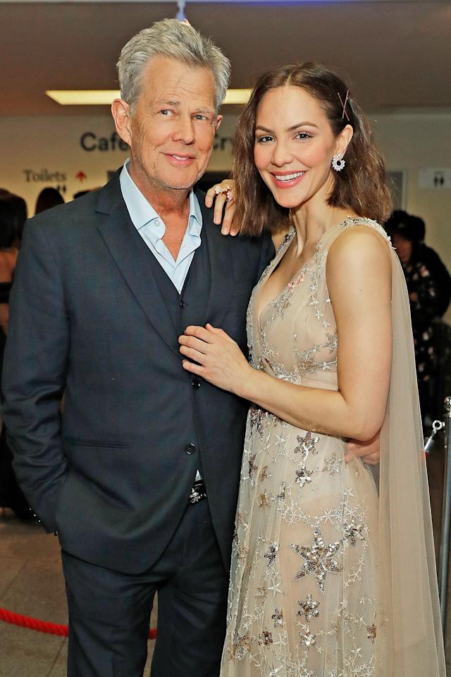 """<a href=""""https://people.com/music/katharine-mcphee-loving-married-life-david-foster/"""">Speaking to<em>Entertainment Tonight</em></a> shortly after her summer 2019 wedding to David Foster, McPhee said she took her husband's name because she's """"a romantic.""""  """"I've always loved the idea of taking [his last name],"""" she shared. """"It's sort of a traditional thing that still exists in our society, but some people don't take their spouse's last name anymore, so, I like the idea of it. I think it's romantic and it's a great last name."""""""