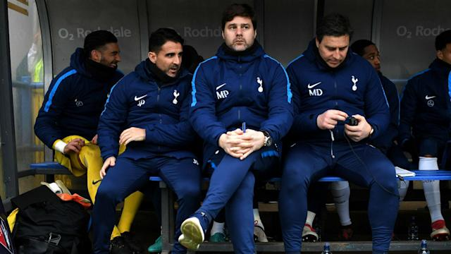Tottenham boss Mauricio Pochettino never believed their tie with Rochdale was over even after Harry Kane put them ahead in the 88th minute.