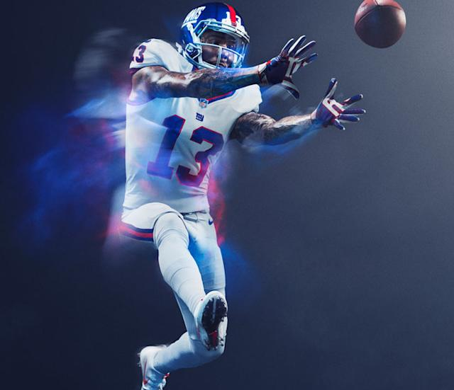 color rush jerseys giants