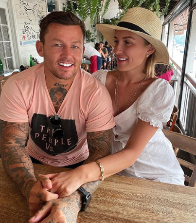 Susie Pearl and Todd Carney