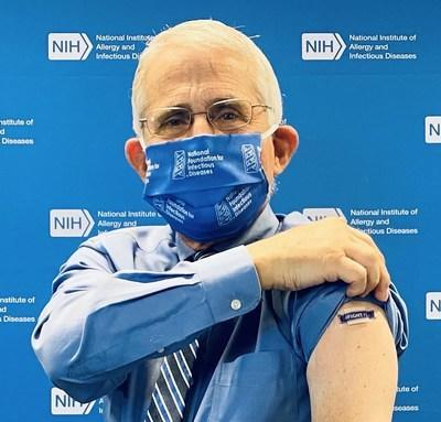 Anthony S. Fauci, MD, Director, National Institute of Allergy and Infectious Diseases, National Institutes of Health, Leading By Example to kick-off the 2020-2021 flu season with the National Foundation for Infectious Diseases