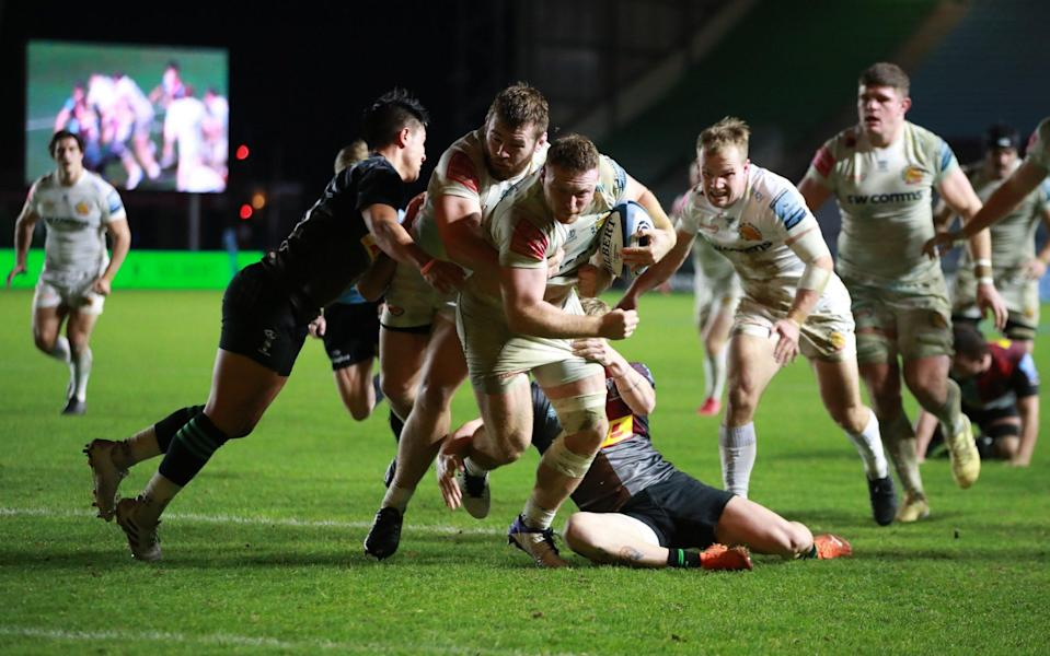 Sam Simmonds continues to show his try-scoring class - GETTY IMAGES