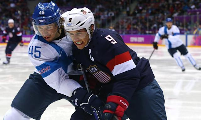 "<span class=""element-image__caption"">Zach Parise won't be playing for USA at Pyeongchang. 'We now consider the matter officially closed,' said the NHL.</span> <span class=""element-image__credit"">Photograph: Martin Rose/Getty Images</span>"