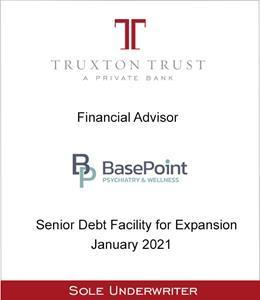 Truxton Trust Advises BasePoint on Debt Financing for Expansion
