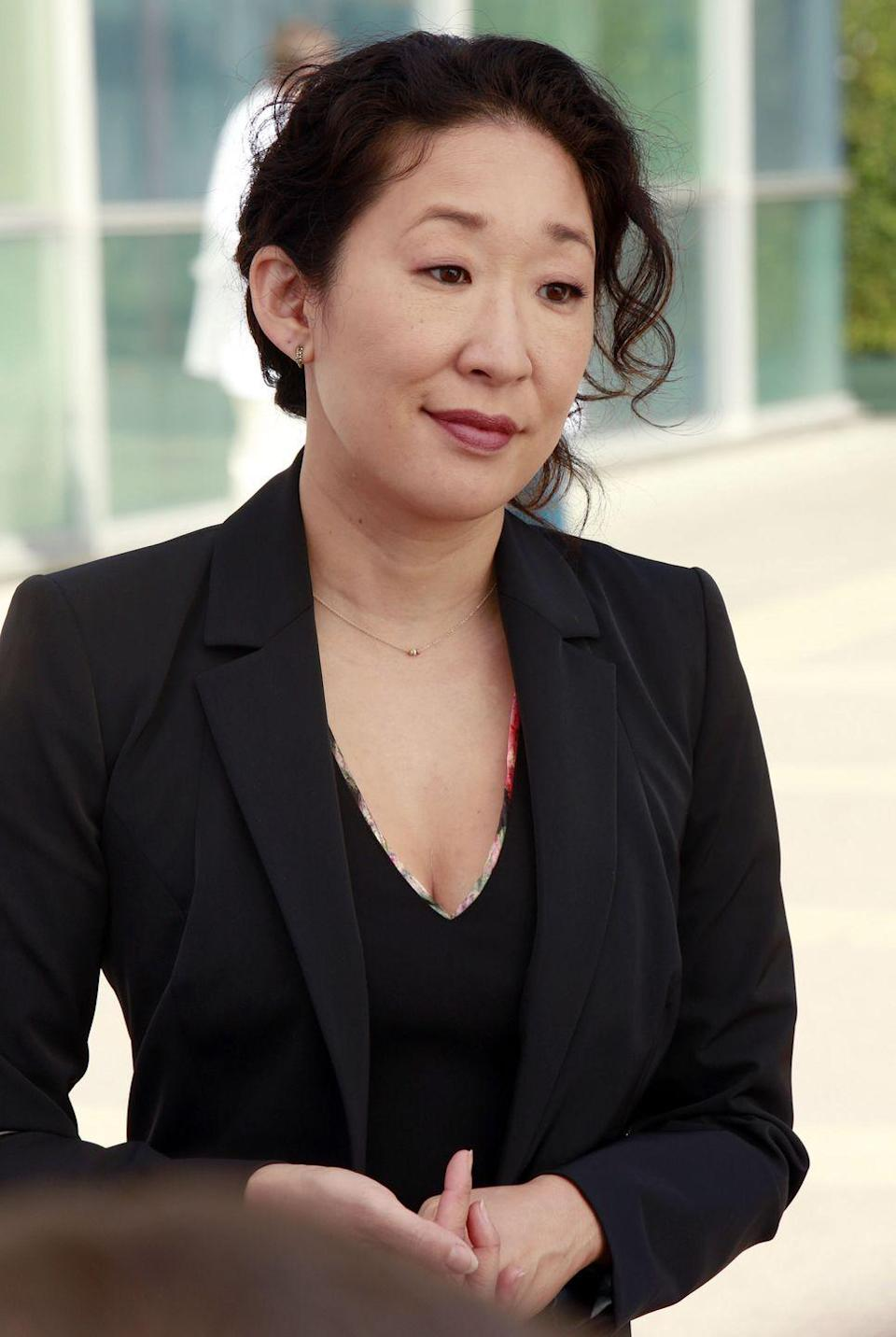 "<p>In season 10, Cristina left Seattle and is now kicking international ass as the Chief Medical Officer, and Director of Cardiothoracic Surgery at the Klausman Institute for Medical Research in Zurich. The character's graceful and open-ended exit is a testament to Oh's great relationship with <em>Grey's Anatomy </em>creator Shonda Rhimes, who is <a href=""https://www.marieclaire.com/culture/g18542081/greys-anatomy-cast-on-set-drama-behind-the-scenes/"" rel=""nofollow noopener"" target=""_blank"" data-ylk=""slk:notorious"" class=""link rapid-noclick-resp"">notorious</a> for giving less-happy endings to characters when she doesn't get along with the actors who play them. </p>"