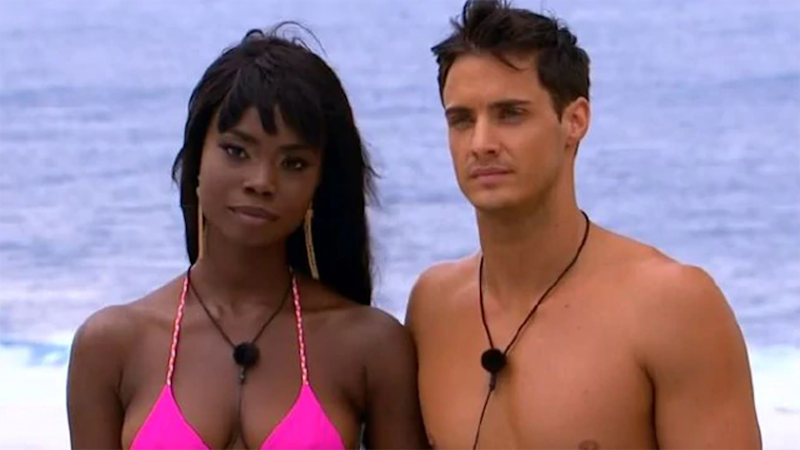 Cynthia was paired with Sam by default. Photo: Channel 9