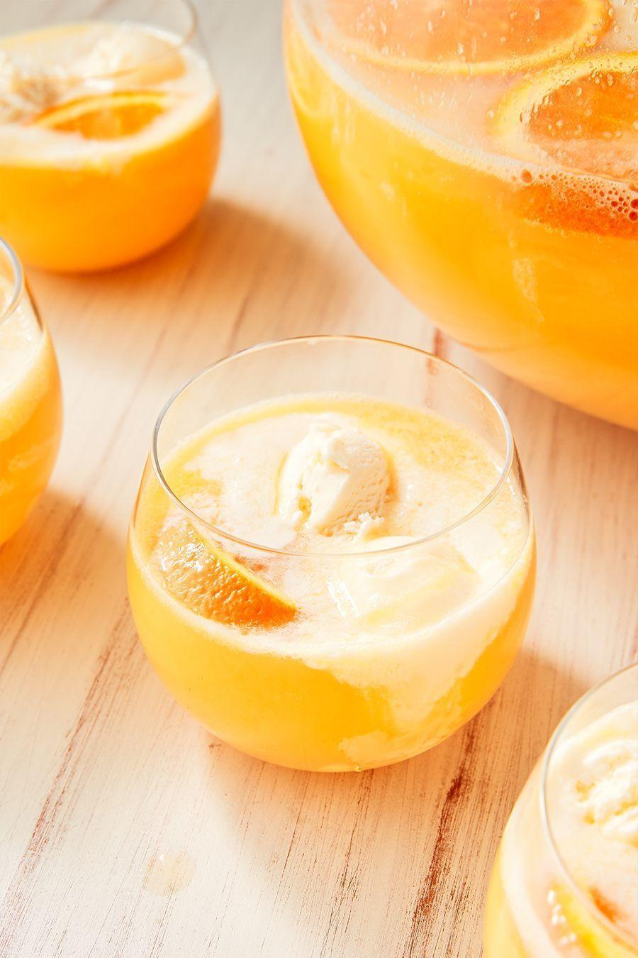 """<p>This drink will take you back to the good old days of sitting in the backyard during the summertime, licking your favorite popsicle, and feeling the grass between your toes. </p><p><strong><em>Get the recipe at <a href=""""https://www.delish.com/cooking/recipe-ideas/recipes/a52743/creamsicle-punch-recipe/"""" rel=""""nofollow noopener"""" target=""""_blank"""" data-ylk=""""slk:Delish"""" class=""""link rapid-noclick-resp"""">Delish</a>. </em></strong></p>"""