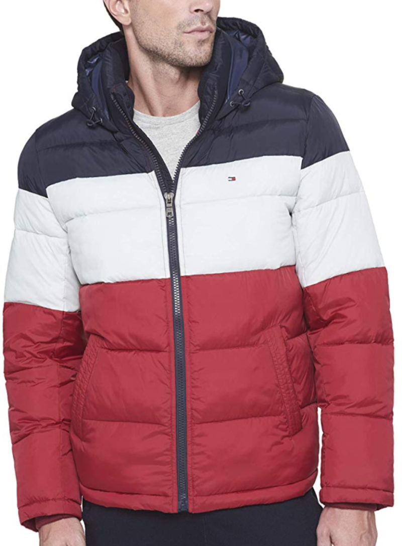 Tommy Hilfiger Men's Classic Hooded Puffer Jacket. (Photo: Amazon)
