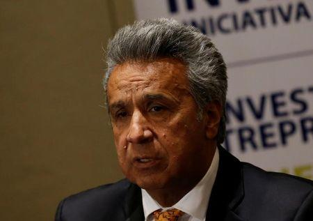 Leftist government candidate Moreno claims victory in Ecuador presidential election