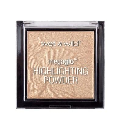 """<p>""""<span>Wet 'n' Wild MegaGlo Highlighting Powders</span> ($5) are amongst my favorites. They blend easily and give you a beautiful glow. They're a must-have, affordable highlighter. I love using them as eyeshadow as well."""" - <a href=""""https://www.instagram.com/chinchilla/?hl=en"""" class=""""link rapid-noclick-resp"""" rel=""""nofollow noopener"""" target=""""_blank"""" data-ylk=""""slk:Daniel Chinchilla"""">Daniel Chinchilla</a>, celebrity makeup artist</p>"""