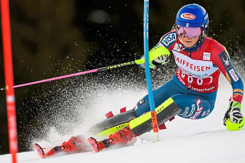 Force of nature | Mikaela Shiffrin won slalom gold in 2014 as an 18-year-old and after claiming the overall World Cup title in 2017 is set to dominate in Pyeongchang: AFP/Getty Images