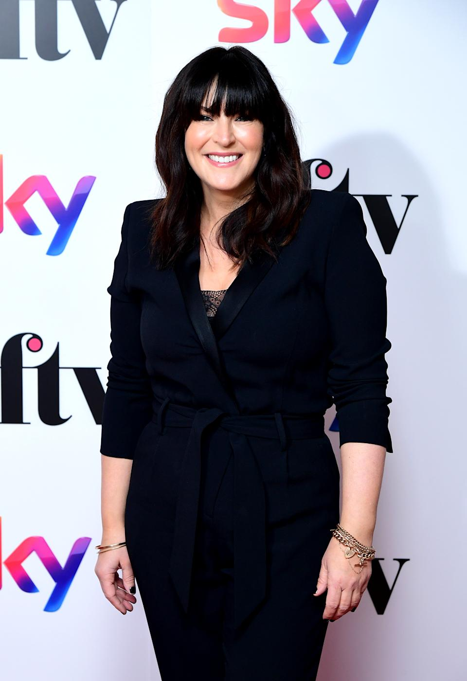 Anna Richardson attending the Women in Film and TV Awards 2019 at the Hilton, Park Lane, London. (Photo by Ian West/PA Images via Getty Images)
