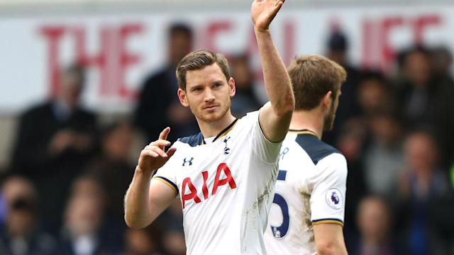 After a 10th consecutive home league win, Jan Vertonghen insisted Tottenham still believe they can chase down Chelsea.
