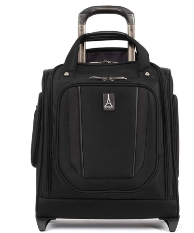The Travelpro Crew Versapack Rolling Underseat Carry-on is great if you don't like lifting your bag into the overhead compartment. (Photo: Amazon)