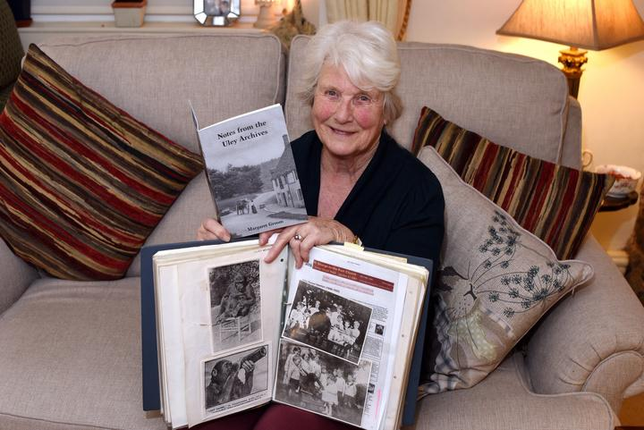Uley Society archivist Margaret Groom (SWNS)