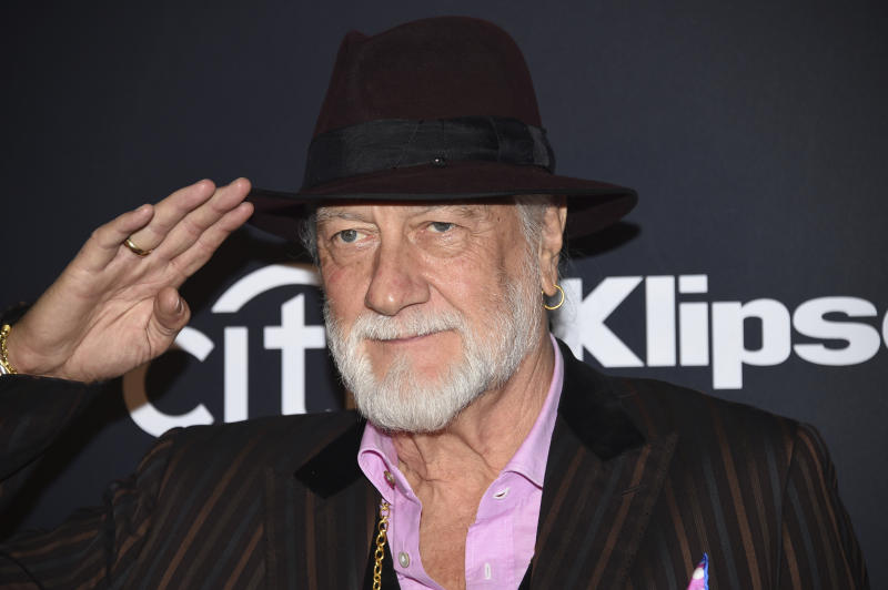 Mick Fleetwood, of Fleetwood Mac, arrives at the Rock & Roll Hall of Fame induction ceremony at the Barclays Center on Friday, March 29, 2019, in New York. (Photo by Evan Agostini/Invision/AP)