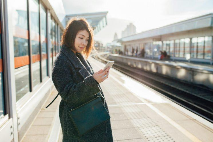 A new app aims to sort tube awkwardness about offering a pregnant woman your seat [Photo: Getty]