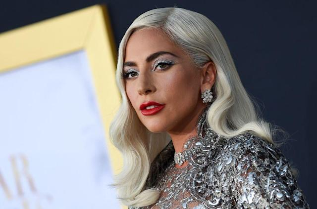 Lady Gaga attends the premiere of <em>A Star Is Born</em> in Los Angeles on Sept. 24, 2018. (Photo: Valerie Macon/ AFP/Getty Images)