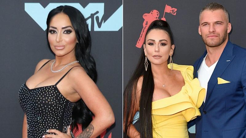 Angelina Pivarnick Posts About 'Being Strong' in Lingerie Pic as JWoww Drama Continues to Unfold