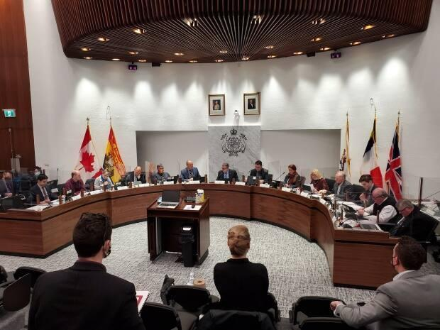 There is no timeline for when the O Canada program will be implemented, but Saint John city manager John Collin says there will be a land-acknowledgment proposal before council before May 10. (Hadeel Ibrahim/CBC - image credit)