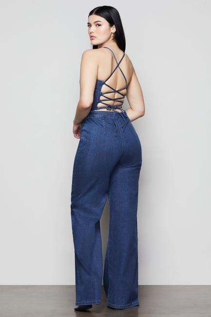 <p>Show off your back in this cute <span>Vacay Palazzo Jumpsuit</span> ($159).</p>