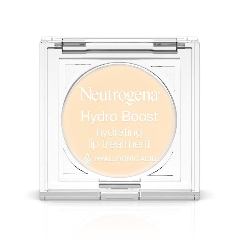 """There's no wrong time to apply the <a href=""""https://www.allure.com/gallery/best-lip-treatments?mbid=synd_yahoo_rss"""" rel=""""nofollow noopener"""" target=""""_blank"""" data-ylk=""""slk:Neutrogena Hydro Boost Hydrating Lip Treatment"""" class=""""link rapid-noclick-resp"""">Neutrogena Hydro Boost Hydrating Lip Treatment</a>. Packed with moisture-holding <a href=""""https://www.allure.com/story/what-is-hyaluronic-acid-skin-care?mbid=synd_yahoo_rss"""" rel=""""nofollow noopener"""" target=""""_blank"""" data-ylk=""""slk:hyaluronic acid"""" class=""""link rapid-noclick-resp"""">hyaluronic acid</a>, it's perfect for swiping on before bed so you can wake up to softer lips, and then again before lipstick for the smoothest application possible. $6, Amazon. <a href=""""https://www.amazon.com/Neutrogena-Hydro-Boost-Treatment-0-10/dp/B01LETUSRK"""" rel=""""nofollow noopener"""" target=""""_blank"""" data-ylk=""""slk:Get it now!"""" class=""""link rapid-noclick-resp"""">Get it now!</a>"""
