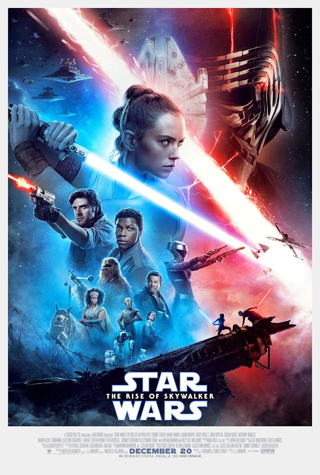 Star Wars: The Rise of Skywalker payoff poster (Disney)