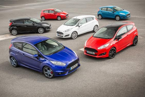The Fiesta range is the UK's favourite – albeit by a declining percentage (Ford)