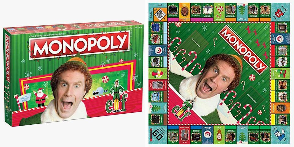 The New 'Elf' Monopoly Is Filled With Iconic Pieces, Characters, And Quotes From The Movie