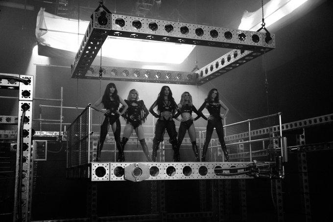 Pussycat Dolls have teased images from their new music video (Pussycat Dolls)