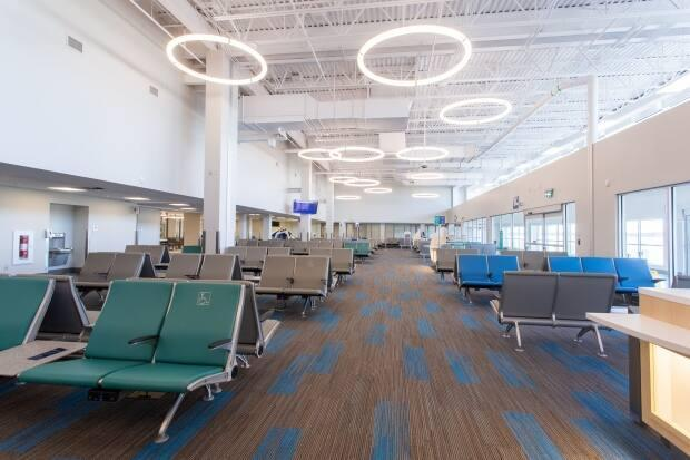The Fredericton airport just underwent a major renovation.