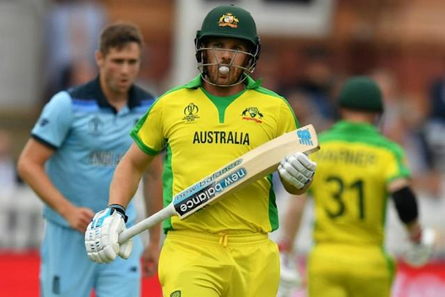 Can Aaron Finch lead Australia to victory in the World Cup semi-final against England? (AFP Photo/Saeed KHAN)